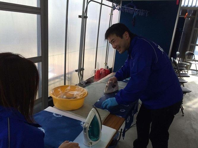 児島 藍染体験5