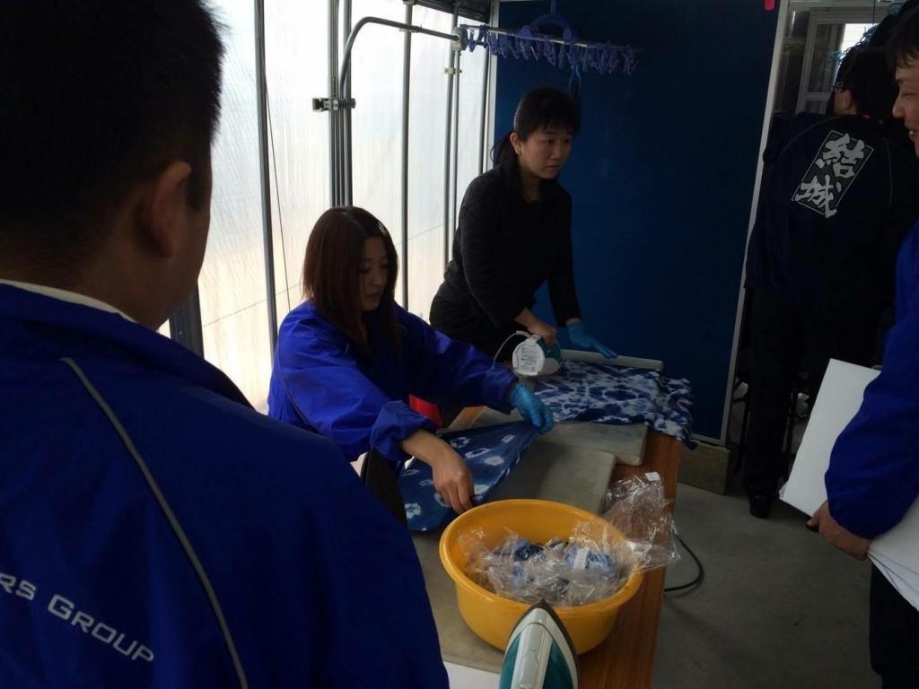 児島 藍染体験3